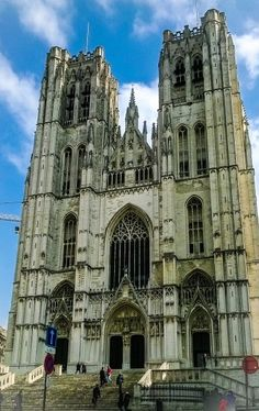 The Cathedral of Saint Michel and Saint Gudula - Belgium travel guide