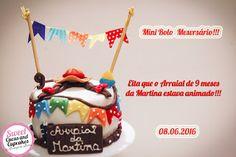 Sweet Cucas and Cupcakes by Rosângela Rolim: Fofuras Juninas de Mesversário!