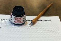 How to Turn a Dip Pen