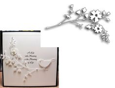 HONEYBLOSSOM SPRIG die by MEMORY BOX 98333 -$12.25 Inspiration Station Scrapbook Store & Retreat