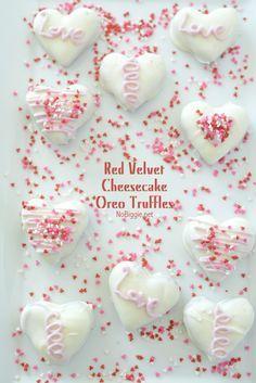Red Velvet Oreo Cheesecake Truffles   NoBiggie.net