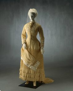 Wedding Dress, 1882 From the Powerhouse Museum