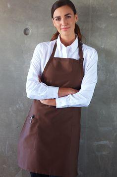 shirt with butcher apron