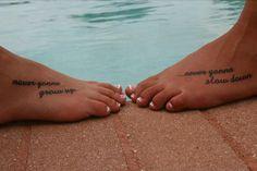 Foot Tattoos Best Friend Quotes. QuotesGram