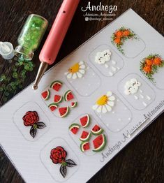 Manicure Y Pedicure, Nail Stickers, Nails Inspiration, Nail Designs, Nail Art, Diy, Hello Hello, Instagram Ideas, Manicures