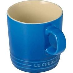 Le Creuset Marseille Blue Stoneware Espresso Mug Le Creuset Mugs, Le Creuset Stoneware, Stoneware Mugs, Bialetti, Pots, White Gloss Kitchen, Dining Plates, Dinner Sets, Serving Dishes