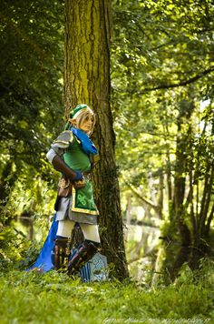 Hyrule Warriors scarf Link cosplay, by #Tatasenko Mana from France