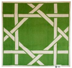 Love this rug under some acrylic. Or in my future beach house.