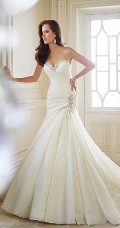 Sophia Tolli Fall 2014 Bridal Collection - Belle the Magazine . The Wedding Blog For The Sophisticated Bride v