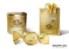 Lazzaroni - Amaretti del Chiostro - Panettone   Classico - Packaging di Packaging In Italy, Packaging Funzionale, Packaging Italiano