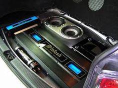 custom car audio power distribution, plexiglass billet