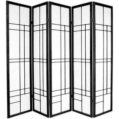 FREE SHIPPING! Shop Wayfair for Oriental Furniture Eudes 5 Paned Room Divider - Great Deals on all Furniture products with the best selection to choose from!