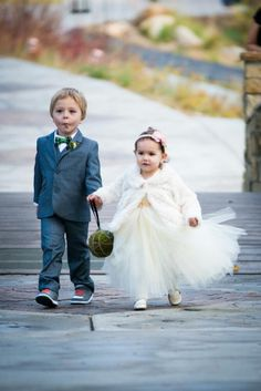 Ring bearer and flower girl - Cori Cook Floral Design - Artessa Photography