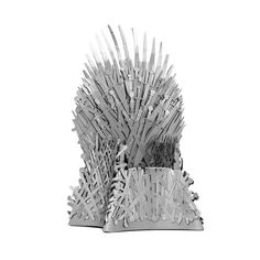 The Iron Throne - Game of Thrones Iconx Metal Model Kit Metal Earth Models, Metal Models, House Stark Sigil, Iron Throne Game, Metal Model Kits, Game Of Thrones Dragons, King's Landing, 3d Laser, Ideal Tools
