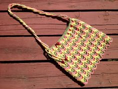 Crocheted Tote Bag with Lining via Etsy Crochet Tote, Crochet Purses, Ravelry, Purses And Bags, Greece, Tote Bag, Trending Outfits, Unique Jewelry, Handmade Gifts