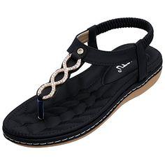 1a8bb7ece0cac SANMIO Women Summer Flat Sandals Shoes