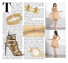 """""""Golden girl"""" by meg-lov on Polyvore featuring mode, Tom Ford, Nina Ricci, Chico's, Chanel et harrydress"""