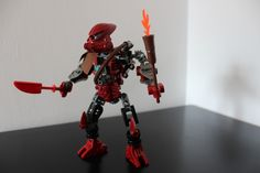 Taito - Matoran/Toa of Fire http://www.flickr.com/photos/142731206@N07/30483165272/