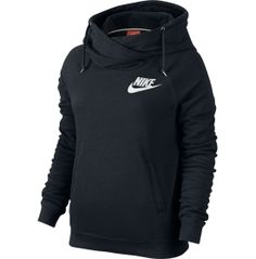 Nike Women's Rally Funnel Neck Hoodie - Dick's Sporting Goods
