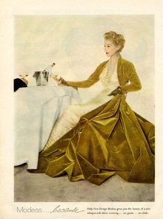 Modess ad 1955