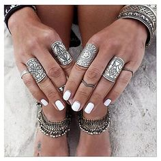Boho style statement rings? Want to rock out a street style? Get this in our big Thanksgiving sale and enjoy the best deal ever.