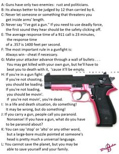 Guns only have 2 enemies: rust and politicians.   ~~BB~~