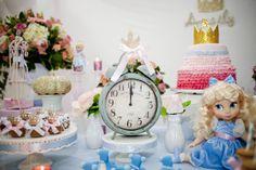 cinderela Cinderella Theme, Cinderella Birthday, 3rd Birthday, Birthday Parties, Parties Kids, Birthday Ideas, Baby Princess, Dessert Table, Party Time