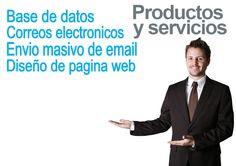 Productos y servicios Base de Datos Correos Electronicos Envio Masivo de email Diseño de Pagina Web www.visocym.com Base, Movies, Movie Posters, Shopping, Page Layout, Products, Films, Film Poster, Cinema