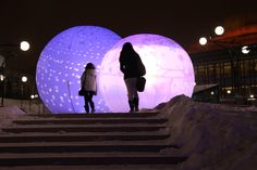 Art Installations, Light Installation, Montreal, Celestial, Outdoor, Polar Fleece, Outdoors, Art Installation, Outdoor Games