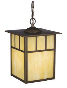 Mission 9 Inch Outdoor Pendant Burnished Bronze by Vaxcel Lighting - OD37296