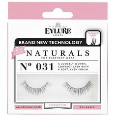 11e77a8c25c Eylure Naturals 031 Black False Eyelashes #Eylure #LashGoals #Eyelashes  #FalseLashes #Lashes