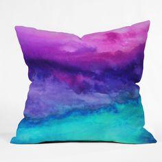 Jacqueline Maldonado The Sound Throw Pillow | DENY Designs Home Accessories