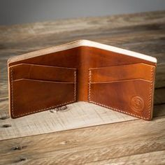 Cartera de cuero Bifold Wallet Mens bifold wallet Bi-Fold