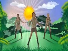 Baile-ejercicio para niños - The Lion Sleeps Tonight Wii Rip The Lion Sleeps Tonight, Battle Fight, Lets Dance, Wii, Safari, Zumba, Youtube, Homer Simpson, Hulk