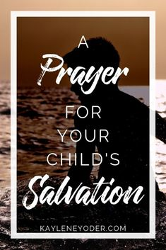 Praying for your child's salvation is one of the best thing a parent can do! Grab these prayer prompts for children to help you pray powerful, war room prayers for your child's salvation! Prayer For Daughter, Praying For Your Children, Prayers For Children, Prayer For Family, Prayer For You, Salvation Prayer, Faith Prayer, God Prayer, Power Of Prayer