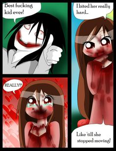 i eat pasta for breakfast pg 17 by Chibi-Works on deviantART Creepy Pasta Comics, Creepy Pasta Funny, Creepy Pasta Family, Creepy Cute, Lazari Creepypasta, Creepypasta Slenderman, Creepy Stories, Jeff The Killer, The Villain