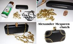 Alexander McQueen Studded Skull Clutch | 26 Designer Knock-Off DIYs That Cost Way Less Than The Real Thing