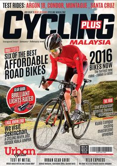 Cycling Plus magazine - Malaysia Magazine Layout Design, Magazine Cover Design, Magazine Layouts, Magazine Covers, Cycling Magazine, Cycling Weekly, Book Layout, Cycling Gear, Book Cover Design