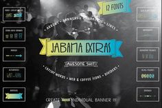 Jabana Extras - 75% OFF - Pack by Nils Types on Creative Market