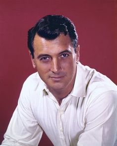 Rock Hudson was adorable Old Hollywood Glam, Hollywood Actor, Golden Age Of Hollywood, Hollywood Stars, Classic Hollywood, Most Handsome Men, Handsome Actors, Good Looking Actors, Dylan And Cole
