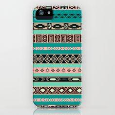 Aztec Tribal Pattern iPhone & iPod Case