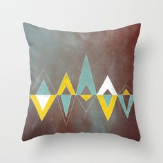 "Throw Pillow Cover made from 100% spun polyester poplin fabric, a stylish statement that will liven up any room. Individually cut and sewn by hand, the pillow cover measures 16"" x 16"", features a double-sided print and is finished with a concealed zipper for ease of care. Does not include pillow insert."
