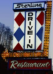 A childhood favorite the STERLING DRIVE iN . . .    Havent had the privilege since 2000 :(