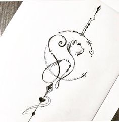 Future Tattoos, Love Tattoos, Body Art Tattoos, Small Tattoos, Wing Tattoos, Tatoos, Cat Tattoo Designs, Tattoo Designs For Women, Tatouage Taz