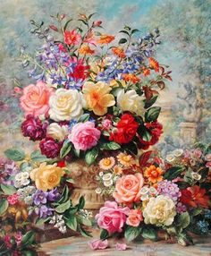 peintures-de-fleurs-huile