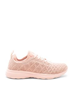 Shop for APL: Athletic Propulsion Labs Techloom Phantom Sneaker in Vintage Rose at REVOLVE. White Slip On Sneakers, Vintage Roses, Labs, Mauve, Tuesday, Fashion Inspiration, Lace Up, Shoe, Athletic