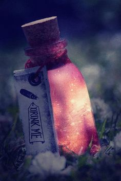 So: Currently on the Hunt for bottles like this: I have a pin where I can create the glow!