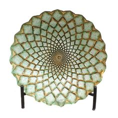 Found it at Wayfair - Casa Cortes Hand-Painted Artisan Glass Decorative Plate