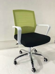Comfortable White Mesh Ergonomic Office Staff Computer Revolving Task Office Chair Cheap Price - China Foshan Staff Office Chair & Computer Seating Factory
