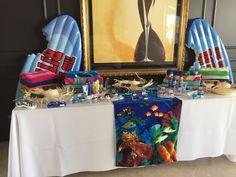 Shark Beach Party Table